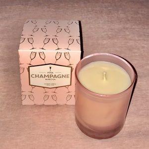 Indigo Pink Champagne Mimosa Candle